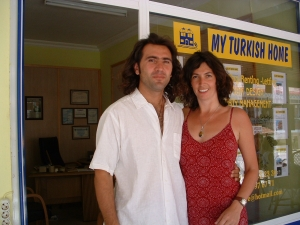 Our first My Turkish Home office in Altinkum – 2002
